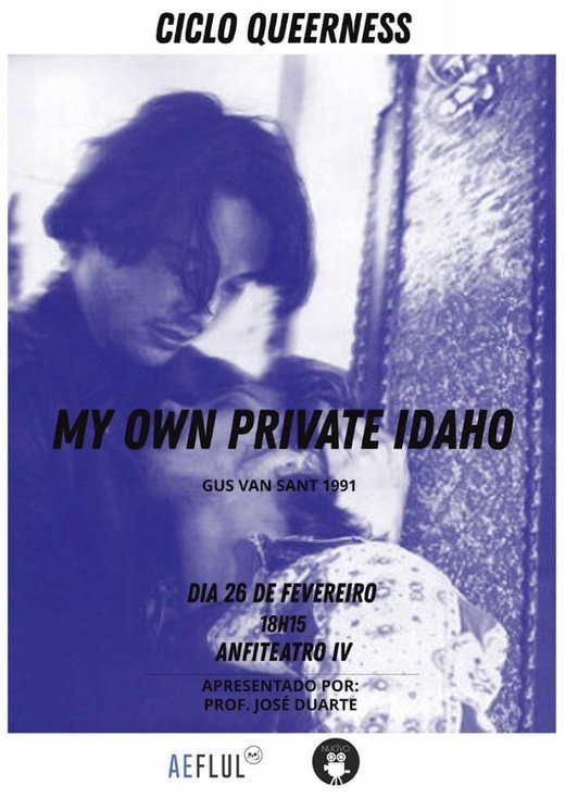 Cartaz 2 CICLO Queerness - My Own Private Idaho ► FLUL 2019-02-26