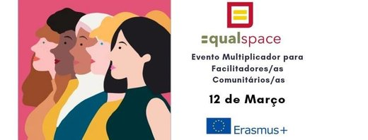 Cartaz Evento Multiplicador do Projeto EQUAL SPACE 2019-03-12