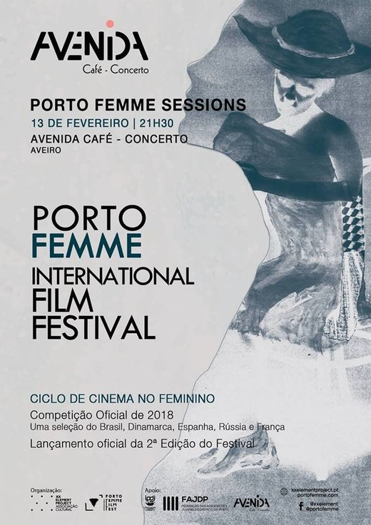 Cartaz PORTO FEMME Sessions - Ciclo de Cinema no Feminino 2019-02-13