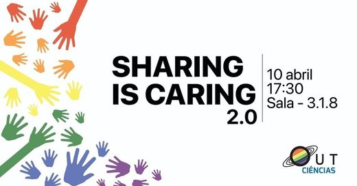Cartaz Sharing Is Caring 2.0 10 Abril 2019 Lisboa